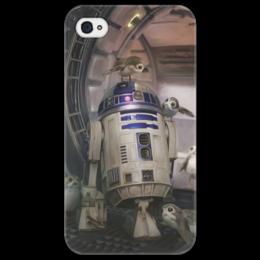 """Чехол для iPhone 4/4S """"Звездные войны - R2-D2"""" - звездные войны, фантастика, кино, дарт вейдер, star wars"""