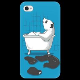 """Чехол для iPhone 4/4S """"Медведь """" - медведь, мишка"""