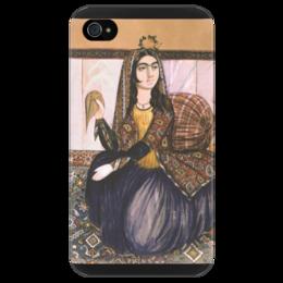 """Чехол для iPhone 4/4S """"Портрет сидящей женщины (картина Эривани)"""" - картина, эривани"""