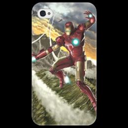 """Чехол для iPhone 4/4S """"Iron Man"""" - комиксы, железный человек, iron man"""