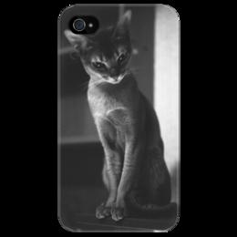 """Чехол для iPhone 4/4S """"Котейка"""" - прикольно, девушка, стиль, женская, в подарок, девушке"""