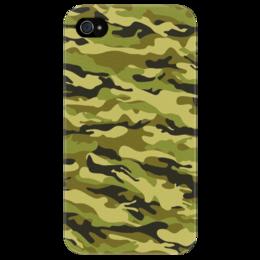"""Чехол для iPhone 4/4S """"Камуфляж"""" - арт, 23 февраля, армия, камуфляж, army, camo"""