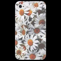 """Чехол для iPhone 4/4S """"Ромашки"""" - цветы, ромашки, полевые цветы"""