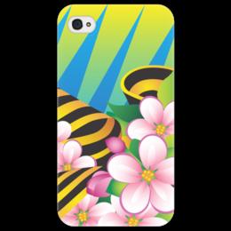 "Чехол для iPhone 4/4S ""Победа"" - 9 мая, праздник, цветы"