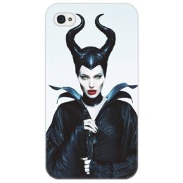 "Чехол для iPhone 4/4S ""Малефисента"" - angelina jolie, maleficent, спящая красавица, малефисента, злая фея"