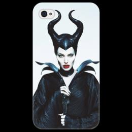 "Чехол для iPhone 4/4S ""Малефисента"" - angelina jolie, maleficent, спящая красавица, малефисента, злая фея"