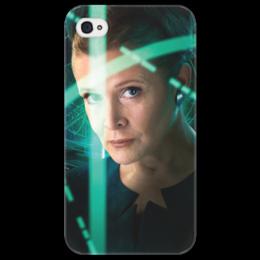 """Чехол для iPhone 4/4S """"Звездные войны - Лея"""" - звездные войны, фантастика, кино, дарт вейдер, star wars"""