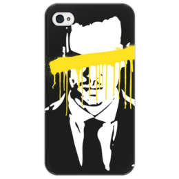 "Чехол для iPhone 4/4S """"Moriarty"""" - sherlock, moriarty, мориарти, шерлок"