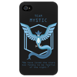 "Чехол для iPhone 4/4S ""Team Mystic"" - мультфильм, pokemon, покемон, мистик, mystic"