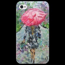 "Чехол для iPhone 4/4S ""Запах дождя"" - весна, улица, парк, сирень, аллея"