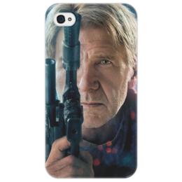 "Чехол для iPhone 4/4S ""Звездные войны - Хан Соло"" - звездные войны, фантастика, дарт вейдер, кино, star wars"
