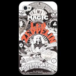 "Чехол для iPhone 4/4S ""Led Zeppelin"" - music, rock, led zeppelin"