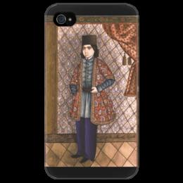 """Чехол для iPhone 4/4S """"Портрет молодого человека (картина Эривани)"""" - картина, эривани"""