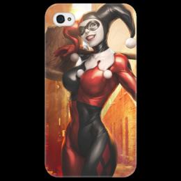 "Чехол для iPhone 4/4S ""Харли Квинн"" - девушка, comics, iphone, комикс, batman, джокер, красотка, безумие, dc, харли"