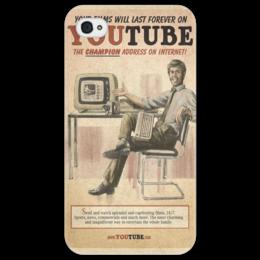 "Чехол для iPhone 4/4S ""YouTube Retro"" - арт, рисунок, оригинально, креативно"