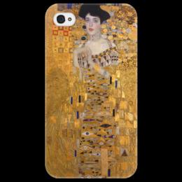 "Чехол для iPhone 4/4S ""Портрет Адели Блох-Бауэр I"" - картина, климт"