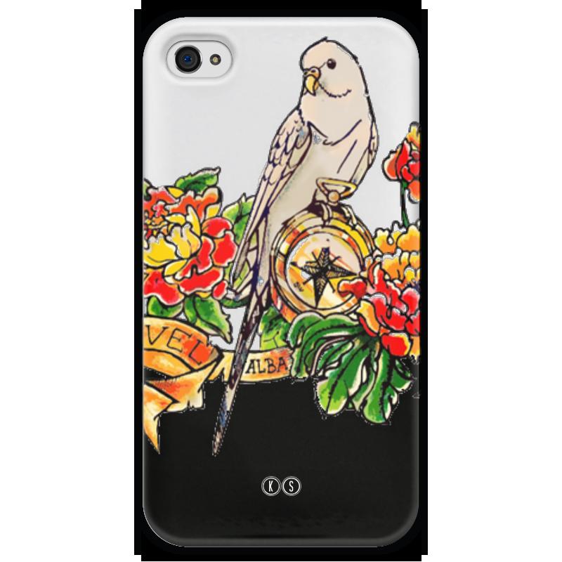 Чехол для iPhone 4 глянцевый, с полной запечаткой Printio Alba 4 чехол для iphone 4 глянцевый с полной запечаткой printio leica m8