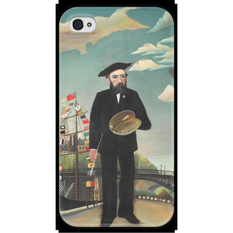 Чехол для iPhone 4 глянцевый, с полной запечаткой Printio Портрет-пейзаж чехол для iphone 4 глянцевый с полной запечаткой printio портрет лоренцо медичи