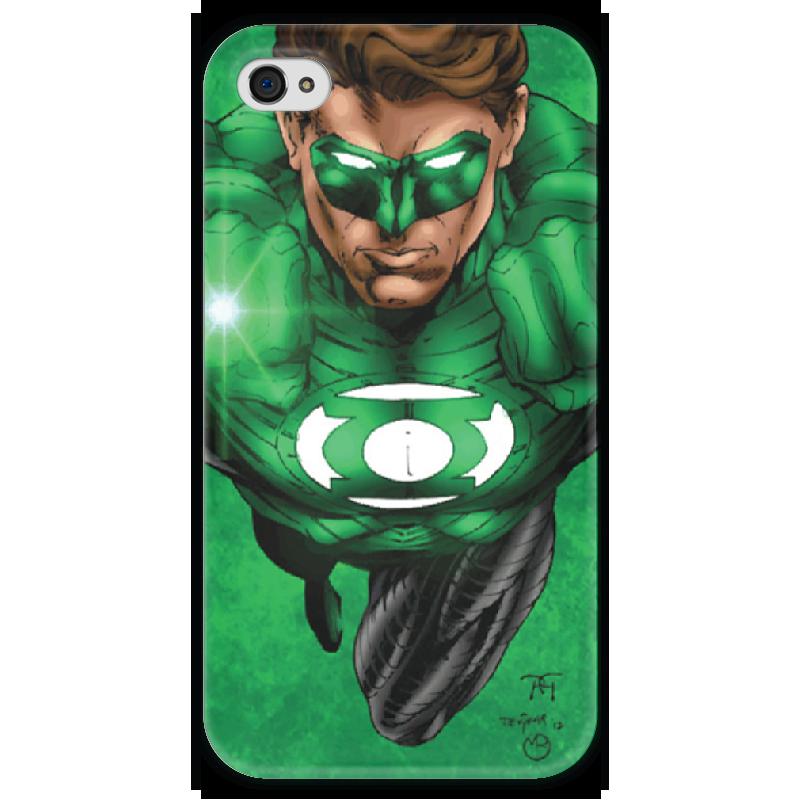 Чехол для iPhone 4 глянцевый, с полной запечаткой Printio Green lantern iphone printio чехол для iphone 4 глянцевый с полной запечаткой