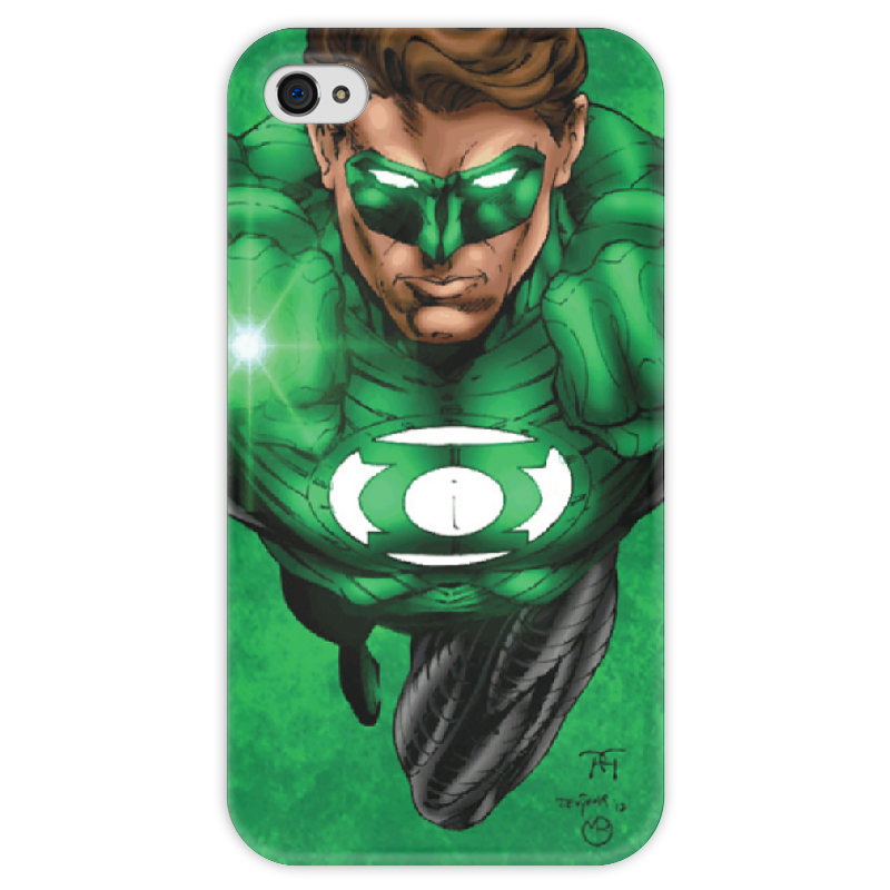 Чехол для iPhone 4 глянцевый, с полной запечаткой Printio Green lantern iphone футболка с полной запечаткой printio green lantern the duck 2