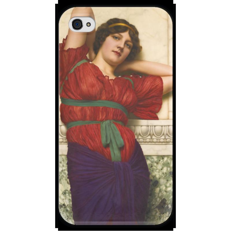 Чехол для iPhone 4 глянцевый, с полной запечаткой Printio Созерцание (джон уильям годвард) чехол для iphone 5 глянцевый с полной запечаткой printio афинаида джон уильям годвард
