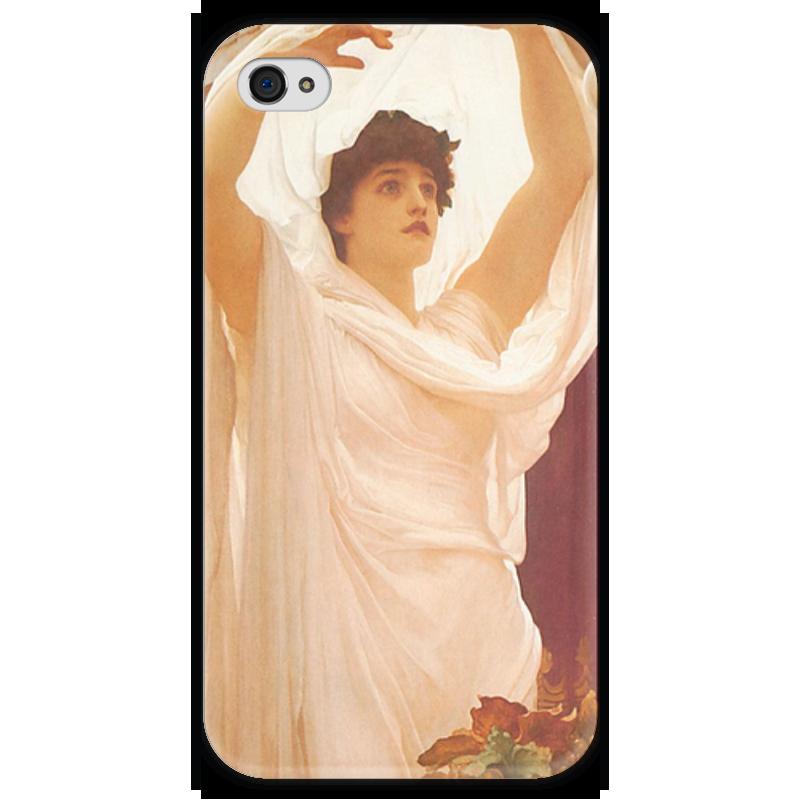 Чехол для iPhone 4 глянцевый, с полной запечаткой Printio Вызов (барон фредерик лейтон) фредерик клеман метаморфозы