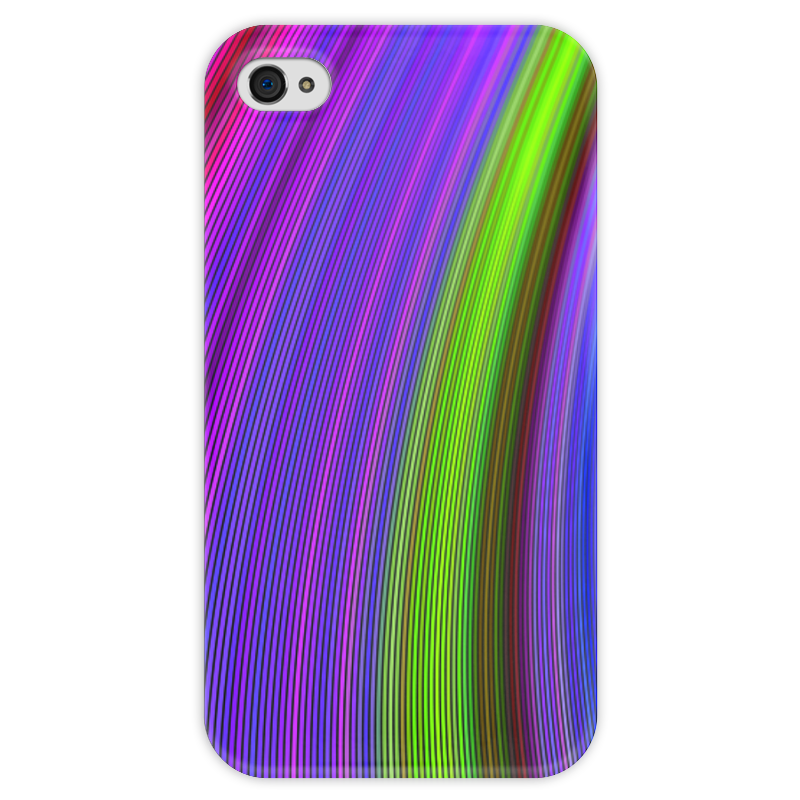 Чехол для iPhone 4 глянцевый, с полной запечаткой Printio Радужная чехол для iphone 4 глянцевый с полной запечаткой printio эфиопка