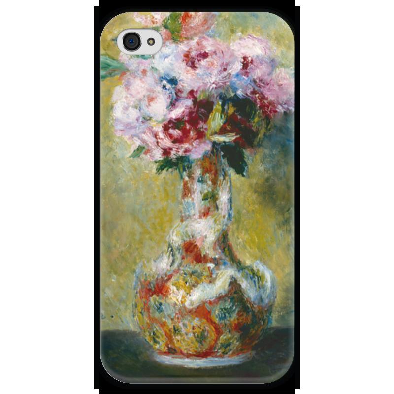 Чехол для iPhone 4 глянцевый, с полной запечаткой Printio Букет в вазе чехол для iphone 6 глянцевый printio бал в мулен де ла галетт ренуар