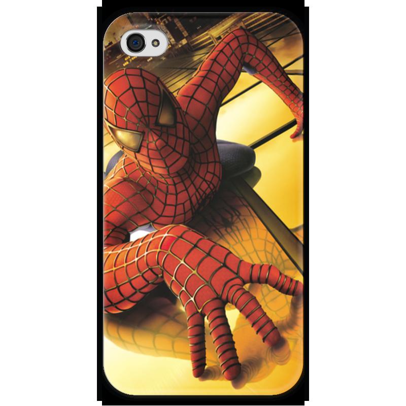 Чехол для iPhone 4 глянцевый, с полной запечаткой Printio Человек - паук чехол для iphone 4 глянцевый с полной запечаткой printio эфиопка