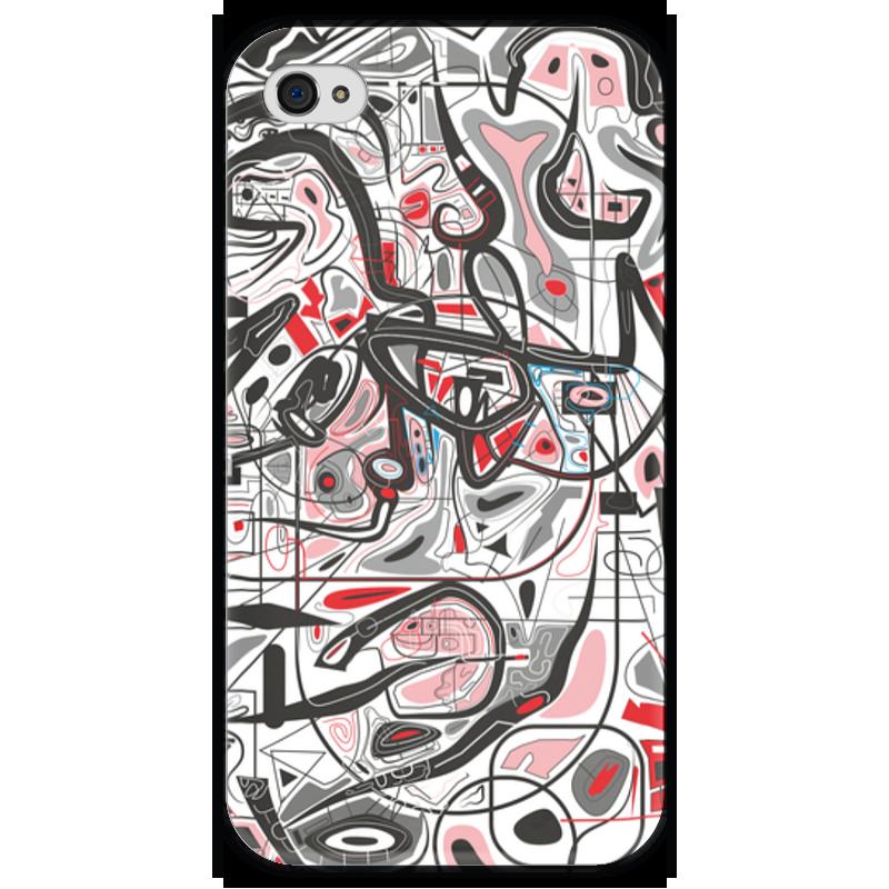 Чехол для iPhone 4 глянцевый, с полной запечаткой Printio Mamewax чехол для iphone 4 глянцевый с полной запечаткой printio иллидан