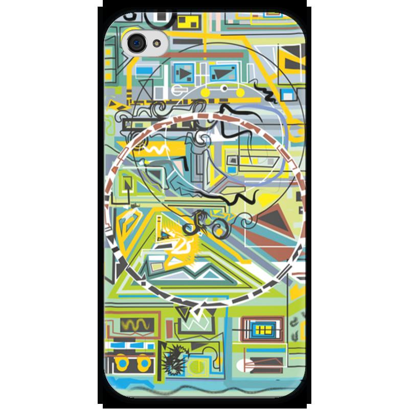 Чехол для iPhone 4 глянцевый, с полной запечаткой Printio Березка чехол для iphone 4 глянцевый с полной запечаткой printio supreme