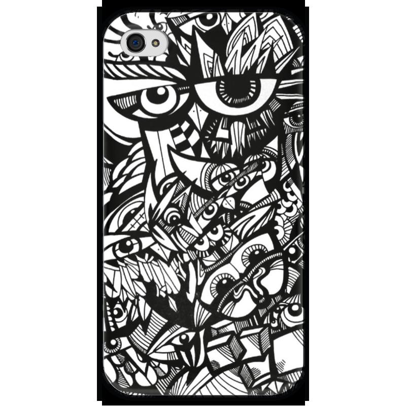 Чехол для iPhone 4 глянцевый, с полной запечаткой Printio Совиный рай сергей шведов рай для негодяев