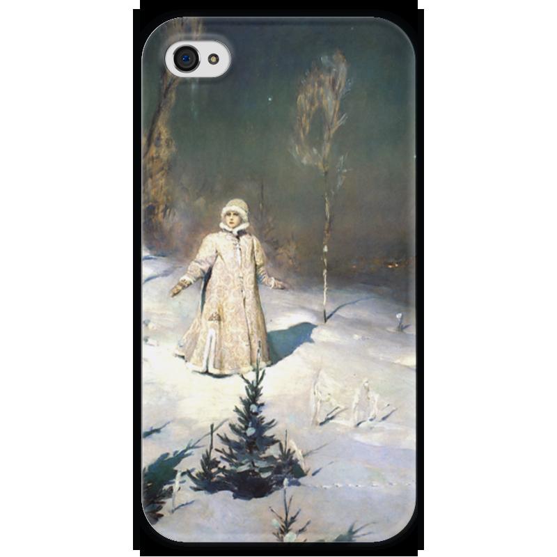 Чехол для iPhone 4 глянцевый, с полной запечаткой Printio Снегурочка (картина васнецова) виктор васнецов минувших дней печаль и радость набор репродукций