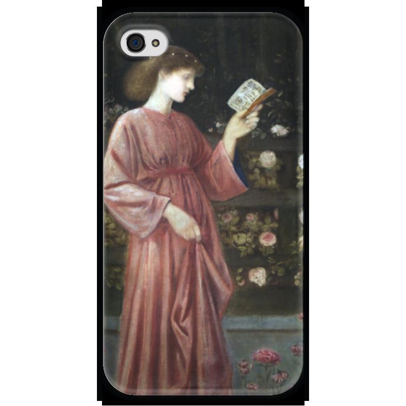 Чехол для iPhone 4 глянцевый, с полной запечаткой Printio Принцесса сабра (эдвард коли бёрн-джонс) георгий победоносец оригинальная икона 1810 года