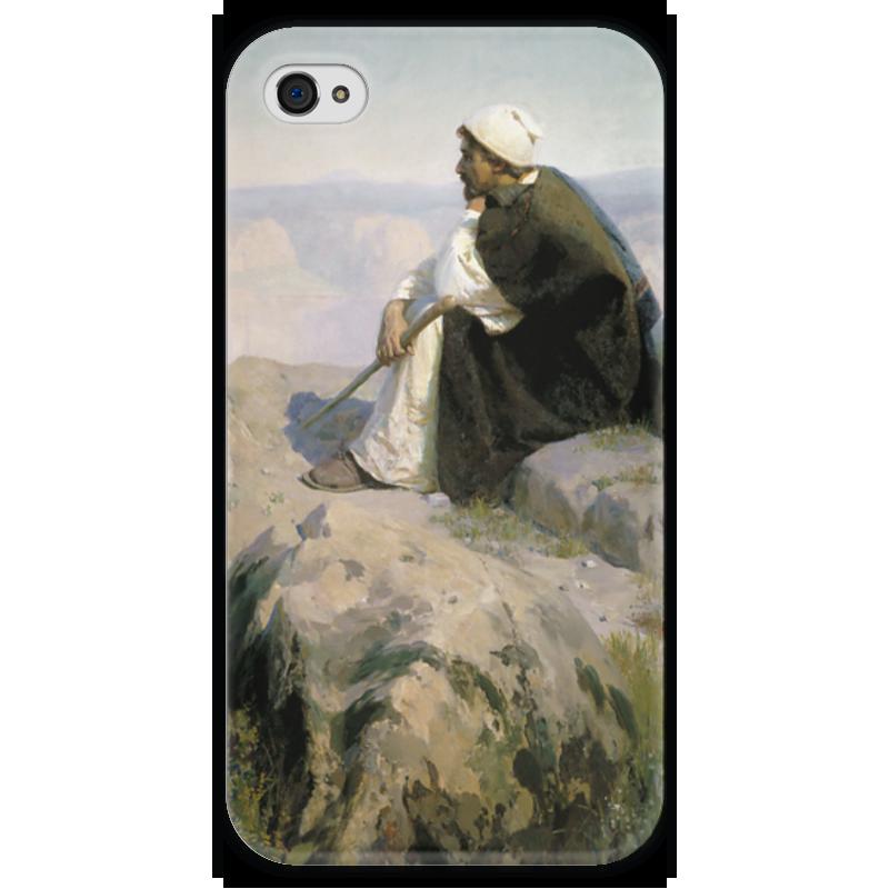 Чехол для iPhone 4 глянцевый, с полной запечаткой Printio Мечты (на горе) чехол для iphone 7 глянцевый printio мечты витторио коркос