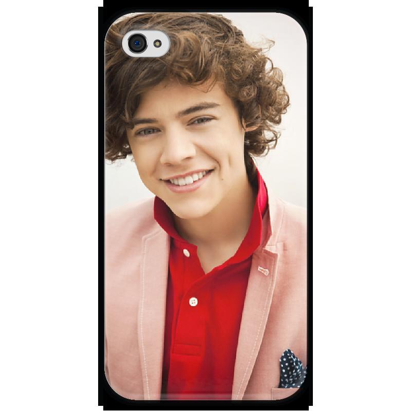 Чехол для iPhone 4 глянцевый, с полной запечаткой Printio Гарри стайлс чехол для iphone 7 глянцевый printio мечты витторио коркос