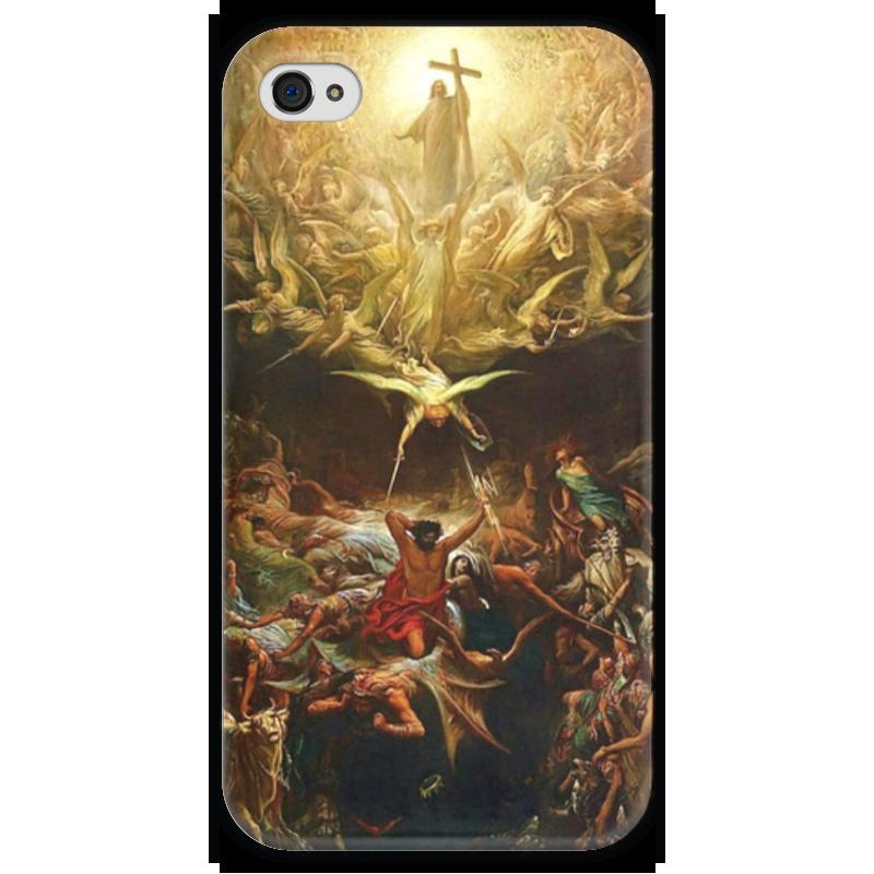 Чехол для iPhone 4 глянцевый, с полной запечаткой Printio Триумф христианства над язычеством футболка с полной запечаткой printio зов поль гоген