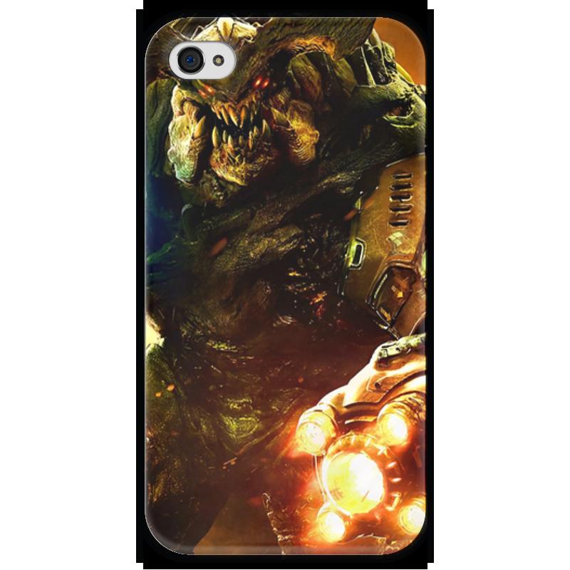 Чехол для iPhone 4 глянцевый, с полной запечаткой Printio Doom 4 чехол для iphone 4 глянцевый с полной запечаткой printio leica m8