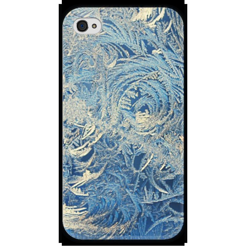 Чехол для iPhone 4 глянцевый, с полной запечаткой Printio Узоры чехол для iphone 4 глянцевый с полной запечаткой printio эфиопка