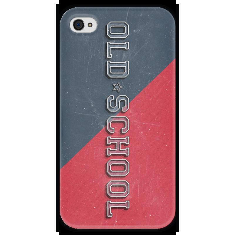 Чехол для iPhone 4 глянцевый, с полной запечаткой Printio Old school style чехол для iphone 4 глянцевый с полной запечаткой printio эфиопка