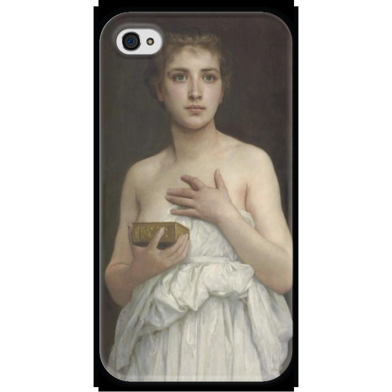 Чехол для iPhone 4 глянцевый, с полной запечаткой Printio Пандора (pandore) чехол для iphone 4 глянцевый с полной запечаткой printio эфиопка