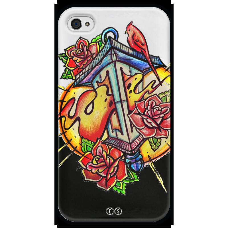 Чехол для iPhone 4 глянцевый, с полной запечаткой Printio Lantern 4 printio чехол для iphone 4 глянцевый с полной запечаткой