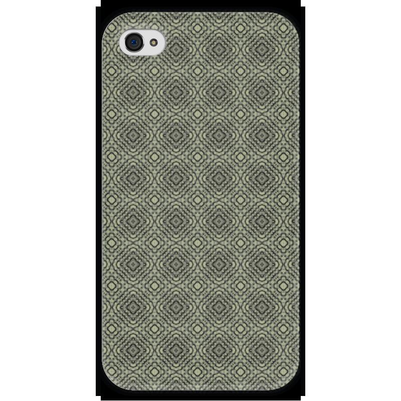 Чехол для iPhone 4 глянцевый, с полной запечаткой Printio Flux чехол для iphone 4 глянцевый с полной запечаткой printio челси