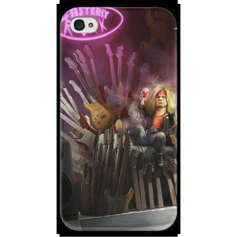 Чехол для iPhone 4 глянцевый, с полной запечаткой Printio Тирион ланнистер чехол для iphone 4 глянцевый с полной запечаткой printio эфиопка