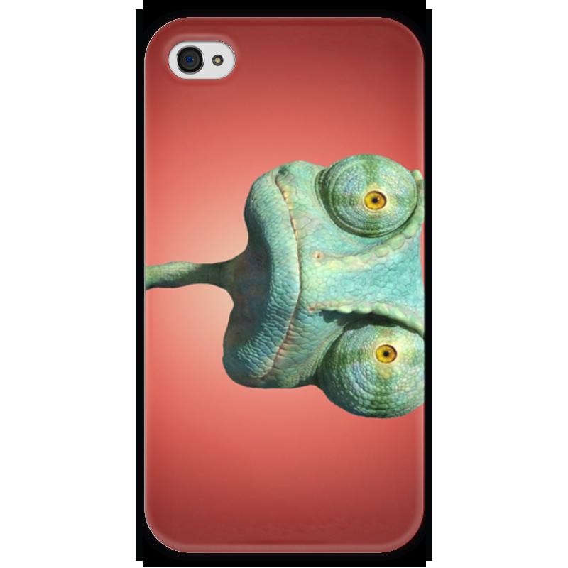 Чехол для iPhone 4 глянцевый, с полной запечаткой Printio Ранго чехол для iphone 4 глянцевый с полной запечаткой printio челси