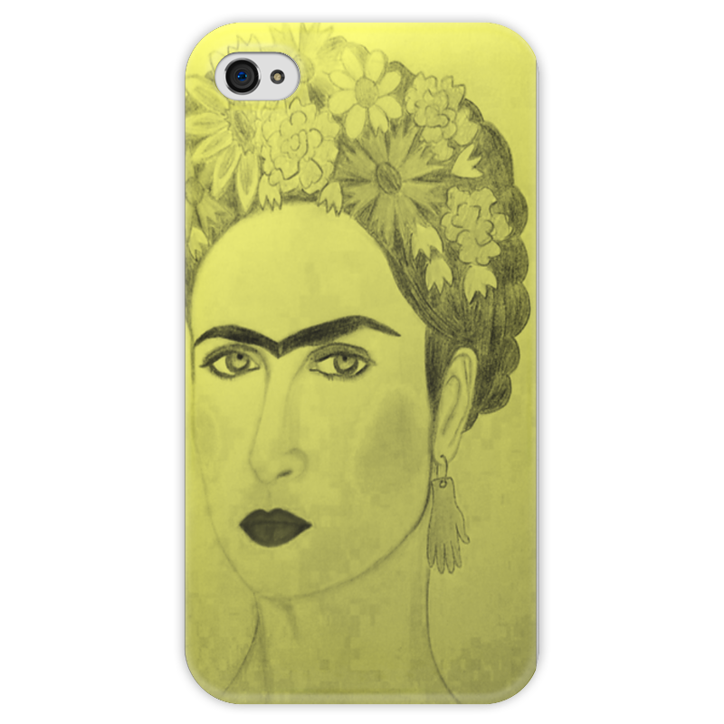 Чехол для iPhone 4 глянцевый, с полной запечаткой Printio В стиле фриды чехол для iphone 6 глянцевый printio модная деваха