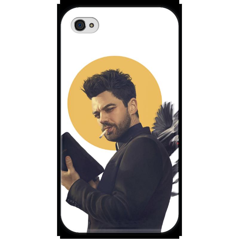 Чехол для iPhone 4 глянцевый, с полной запечаткой Printio Пастырь чехол для iphone 4 глянцевый с полной запечаткой printio эфиопка
