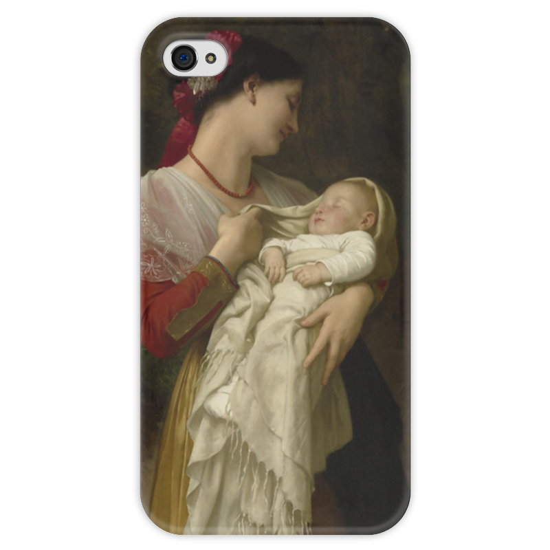 Чехол для iPhone 4 глянцевый, с полной запечаткой Printio материнское счастье (maternal admiration) diysecur rfid 125khz id card password reader access control security system electric bolt lock with door clamp remote control