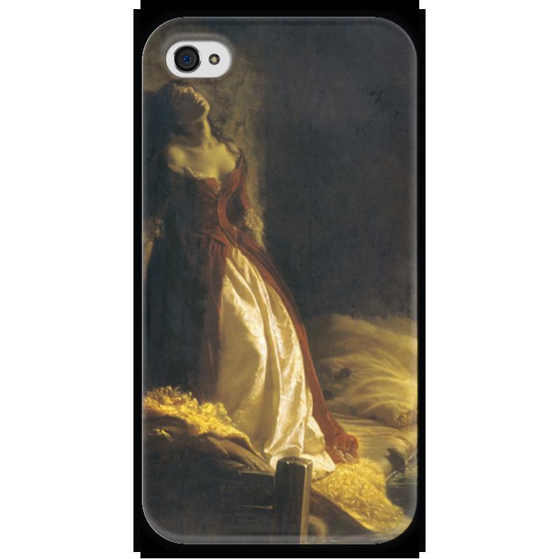 Чехол для iPhone 4 глянцевый, с полной запечаткой Printio Княжна тараканова (картина флавицкого) gardenboy plus 400 в санкт петербурге