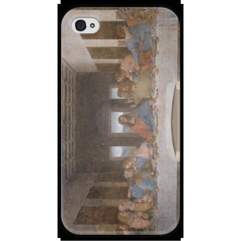 Чехол для iPhone 4 глянцевый, с полной запечаткой Printio Тайная вечеря (картина леонардо да винчи) набор для сборки revell танк леонардо да винчи